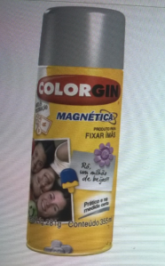 Tinta Spray Magnético - Colorgin